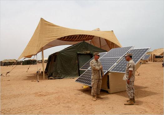 Альтернативная энергия для военных целей